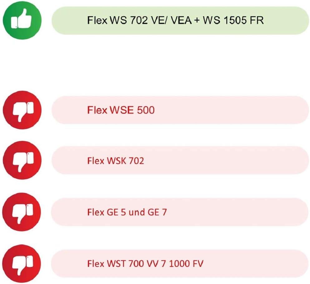 Pi/èce de rechange arbre moteur ponceuse girafe pour un Flex WST 700 VV // 1000FV