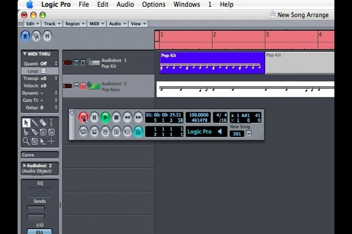 How to Record Bass With Apple Logic Pro