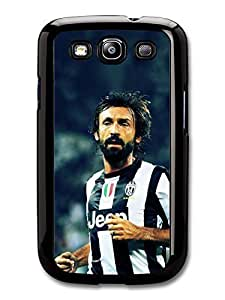AMAF ? Accessories Andrea Pirlo Striped T shirt Italian Football case for Samsung Galaxy S3