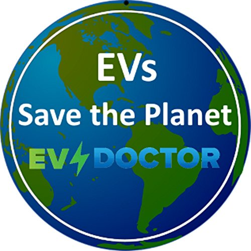 """Level 1 EVSE power adapter, EVPA 6-20R to 5-15P connects a 240V Level 2 Electric Vehicle Car Charger to a 120V outlet 14""""/20A for Dousida/EVFASTx3 etc BONUS:Rain Bonnet, EVs Save the Planet Sticker by EVDoctor (Image #1)"""