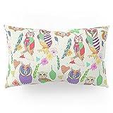 Society6 Owl Always Love Owls Pillow Sham King (20'' x 36'') Set of 2