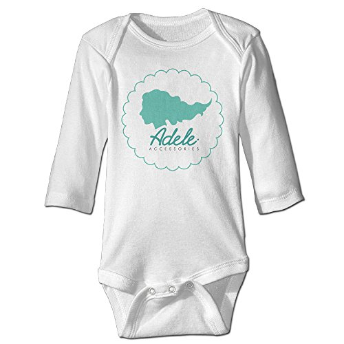 Raymond Adele Long Sleeve Bodysuit Outfits White 12 Months (2)