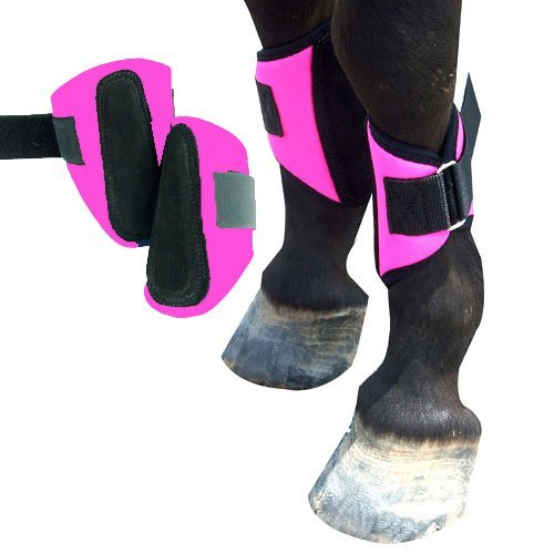 Intrepid International Mini Horse Splint Boots, Pink