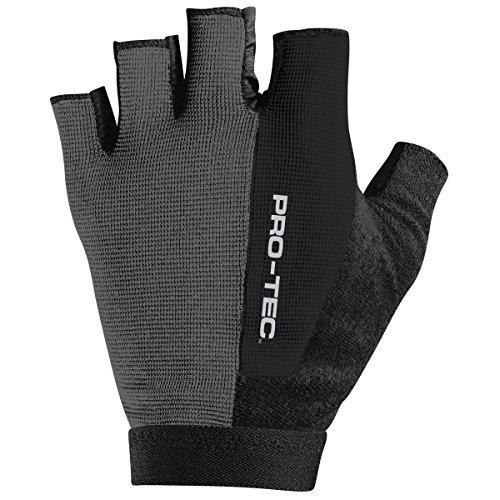PROTEC Original Pro-tec Lo-5 Glove, Black, (Hi 5 Fingerless Glove)