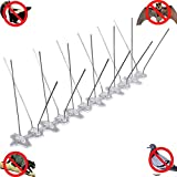Bird Spikes,Bird Pest Control With UV-PC And SUS304 Spikes, Effective bird repellent Repel...