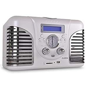Equipo música Trevi TT 1060CD USB-SD-MP3. Blanco