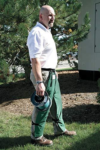 Elvex Chain Saw Chaps, Green, Nylon - JE-8000