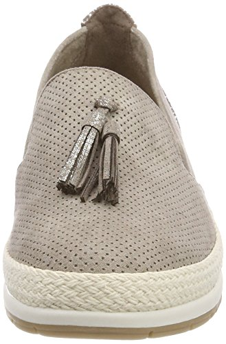 taupe Marco Para Tozzi Mujer 24232 Beige Mocasines wzYwBTq