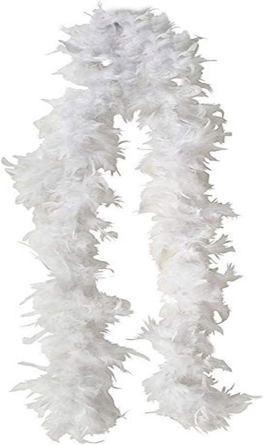 Feather Chandelle Boa 6 feet long for Halloween costume TM SACASUSA