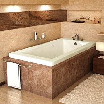 Guadeloupe 30 X 60 X 23u0026quot; Rectangular Soaking Bathtub Color: Bone,  Options:
