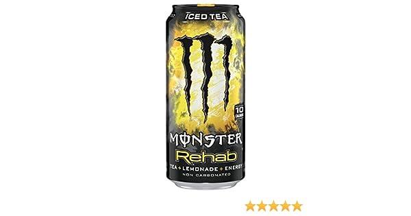 Monster Rehab 50cl (pack de 24): Amazon.es: Salud y cuidado personal