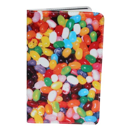 Jelly Beans Journal (Diary, Notebook) w/ Moleskine Cahier Pocket Cover - Jelly Bean Nursing Cover