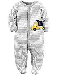 Carter's Baby Boys' Terry Sleep n Play Footie (Baby)