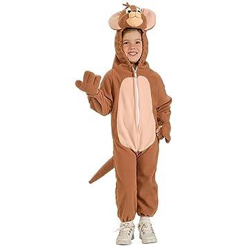 Amazon.com: Tom & Jerry – Jerry bebé/niño disfraz, M, Marrón ...