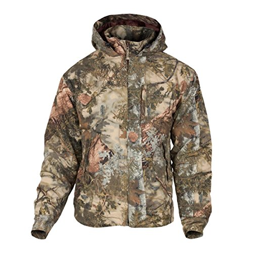 King's Camo Classic rip Stop Hooded Ins. Jacket, Size: XL (KCB125-MS-XL)