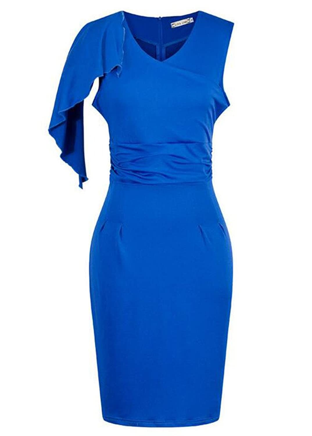 J-SUN-7 Women's Elegant Evening Dress
