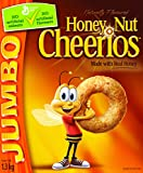 Cheerios Honey Nut Jumbo Cereal, 1.3-Kilogram ( Pack of 2)