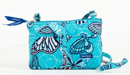 Bella Taylor Butterfly Quilted Cotton Essentials, Bags Central