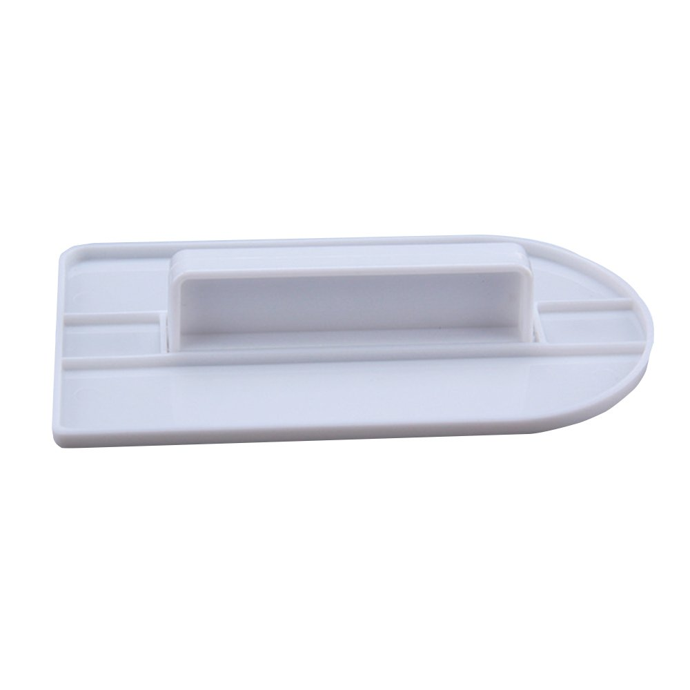 Fondant Smoother Easy Glide Cake Icing Spatula Smoother for Cakes Modelling and Decorating (White)