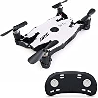 JJRC H49 Ultrathin Foldable Drone Mini SOL Pocket FPV WIFI Quadcopter with 720P Camera Night Light Real-time Transmission