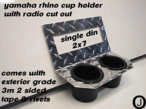 Yamaha Rhino Center Dash Cup Drink Holder with Radio Cut (Rhino Dash)