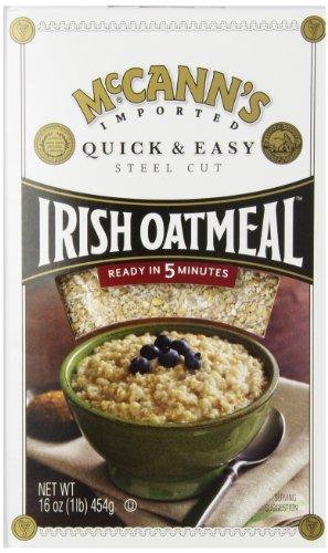 Mccann's Quick and Easy Steel Cut Irish Oatmeal, 16 Ounce
