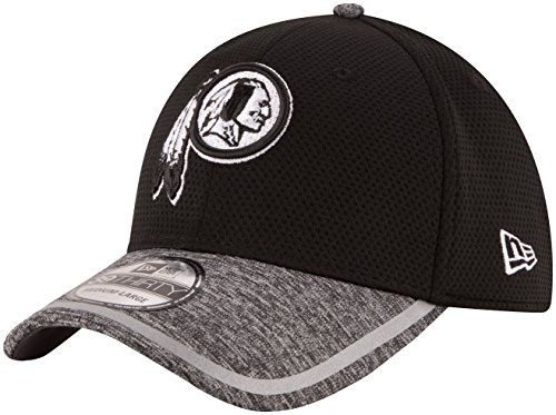 NFL Washington Redskins 2016 Training Camp 39THIRTY Stretch Fit Cap, Medium/Large, Black/White (Hat Training Camp)