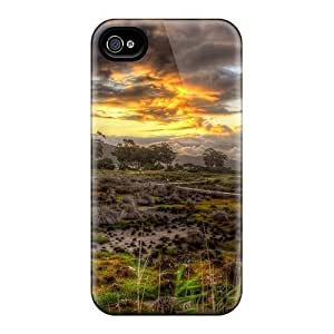 For Iphone Case, High Quality Beautiful Wetls Lscape Hdr For Iphone 4/4s Cover Cases