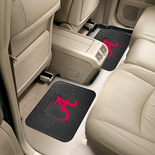 University of Alabama Backseat Utility Mats 2 Pack - Alabama Utility Mat