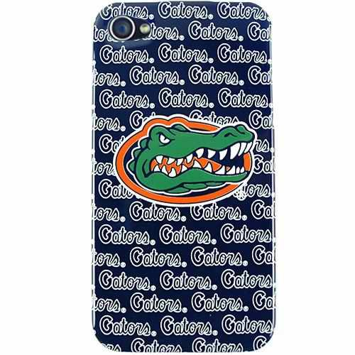 Florida Gators Graphics NCAA College Team for Apple iPhone 4 4S Faceplate Hard Back Protector Case Snap On Cover fits Sprint, Verizon, AT&T ()