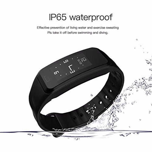 20 Heart Rate Monitor Watch (Dreamyth R1 Smart Bracelet Heart Rate Monitor Smart Wristband Fitness Tracker (Black))