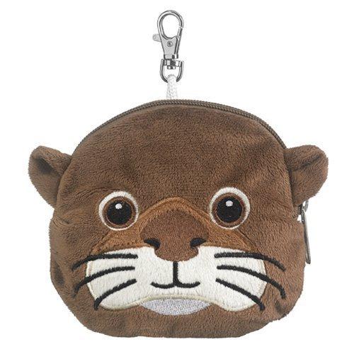 Otter Stuffed Animal Zipper Wallet product image