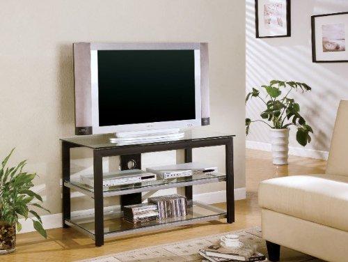 42 TV Stand Black