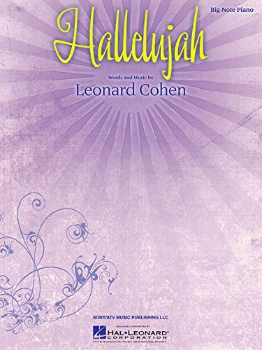 Download Hallelujah (Big-Note Piano Sheet Music) book pdf