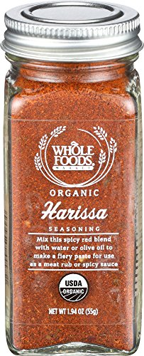 Whole Foods Market, Organic Harissa Seasoning, 1.94 Ounce