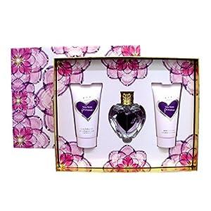 Vera Wang Princess Eau de Toilette, Body Lotion, and Body Polish - 3 Piece Fragrance Set