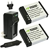 Wasabi Power Battery and Charger Kit for GoPro AHDBT-001 and GoPro HD HERO, H...
