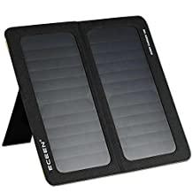 ECEEN 13W Foldable Solar Charger Portable Solar Panel With Dual USB Output for Iphones, Smartphones, Tablets, External Battery Packs, GPS Units, Bluetooth Speakers, Gopro Cameras, other 5V USB-Charged Devices