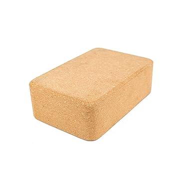 Zebuakuade Cork Yoga Brick Alta Densidad Natural ...