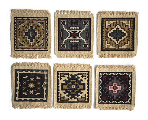 - Southwest Tapestry Stencil Coaster Set