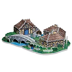 The Hobbit Hobbiton 3D Jigsaw Puzzle, 363-Piece