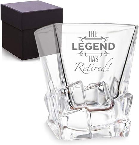 Retired Firefighter Whiskey Glass