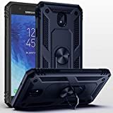 Galaxy J7 2018 Case,Samsung Galaxy J7 Aero/J7 Top/J7 Crown/J7 Aura/J7 Refine/J7 Star/J7 Eon Case,SUSAA 360 Degree Rotating Ring Holder Kickstand Case for Galaxy J7 2018 Navy Blue