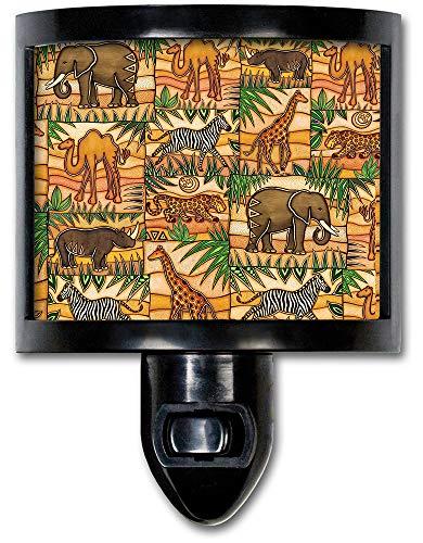 Art Plates NL-157 Safari Night Light