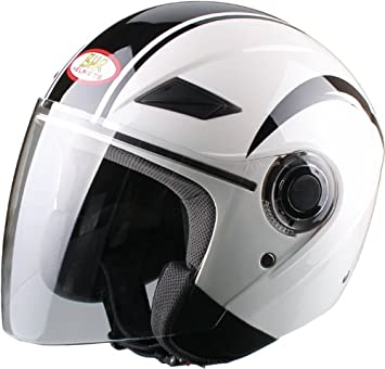 BHR 49881 Demi-Jet Casco, Racing, Talla XL, 61 cm