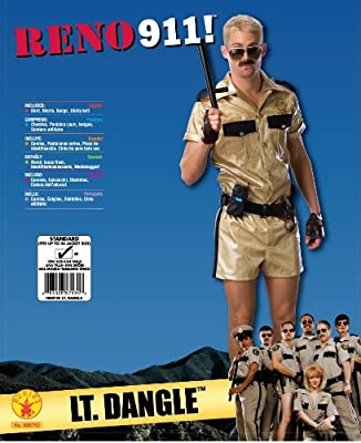 Reno 911 Deluxe Lt.Dangle Costume