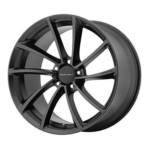 KMC Wheels KM691 Spin Satin Black Wheel (18x8\