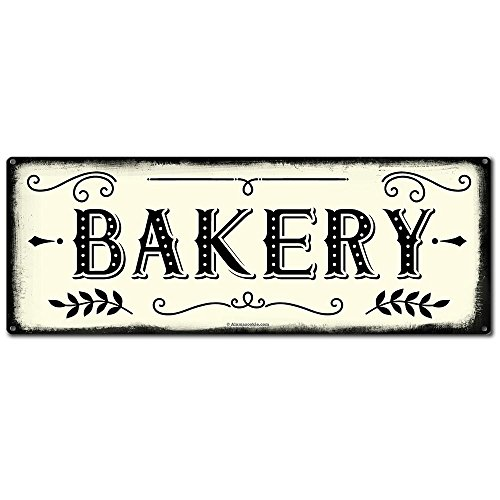 metal bakery sign - 1
