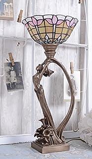 Tischlampe Secession Leuchte Jugendstil Frauenfigur Lampe Tischleuchte  Palazzo Exklusiv