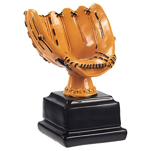Baseball Participation Trophy - Baseball Trophy - Sports Award Trophy - Trophy Award Recognition for Baseball Players, Pitchers, Coaches for Kids Sports Tournaments, Competitions – Baseball Glove Design, 5.75 x 4.5 x 4 Inches